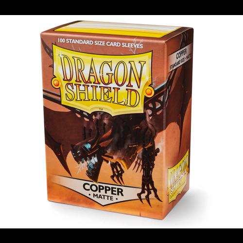 Arcane Tinmen DECK PROTECTOR: DRAGON SHIELDS: MATTE COPPER (100)