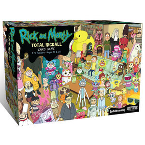 Cryptozoic Entertainment RICK & MORTY: TOTAL RICKALL