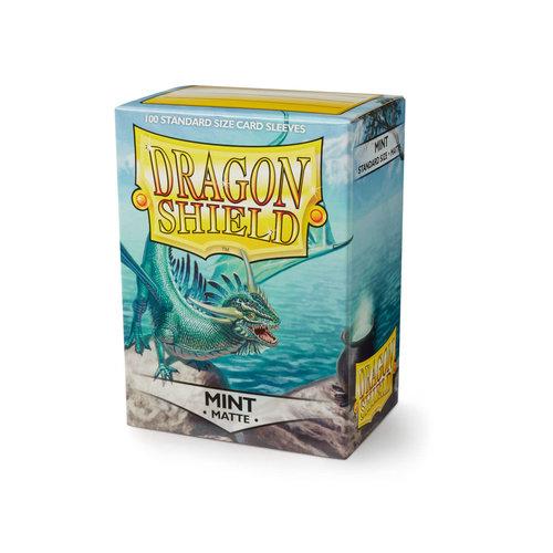 Arcane Tinmen DECK PROTECTOR: DRAGON SHIELD: MATTE MINT (100)