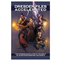 FATE CORE: THE DRESDEN FILES  - ACCELERATED