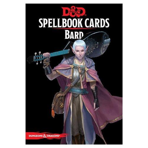 Gale Force Nine D&D 5E: SPELLBOOK CARDS - BARD DECK