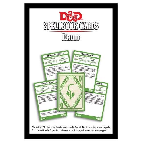 Gale Force Nine D&D 5E: SPELLBOOK CARDS - DRUID DECK