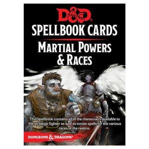 Gale Force Nine D&D 5E: SPELLBOOK CARDS - MARTIAL POWERS & RACES