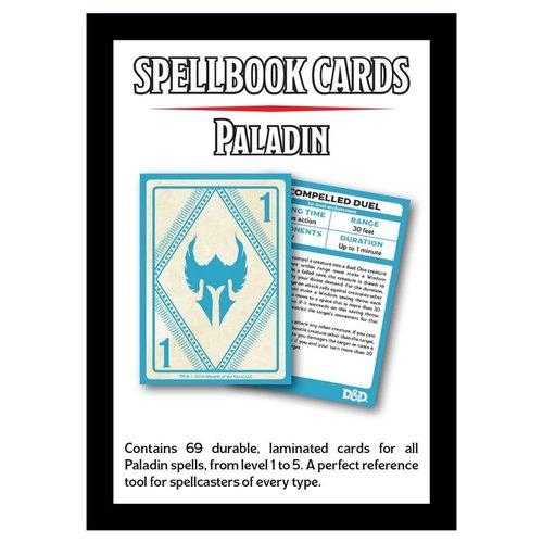 Gale Force Nine D&D 5E: SPELLBOOK CARDS - PALADIN DECK