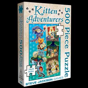 Steve Jackson Games SJG500 KITTEN ADVENTURERS