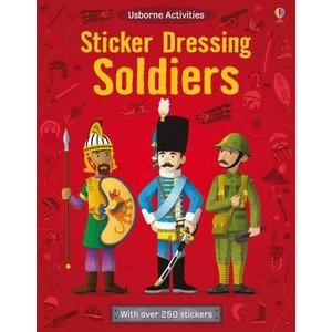 EDC Publishing STICKER DRESSING SOLDIERS