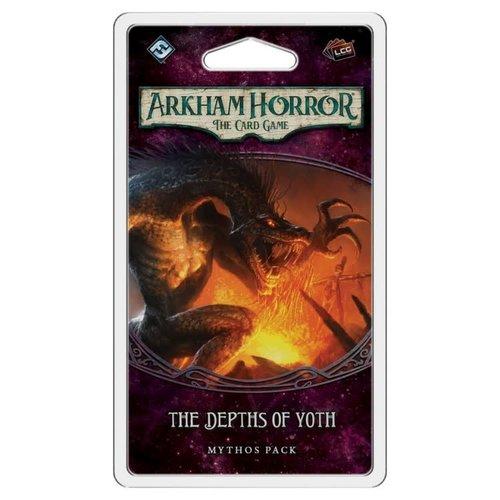 Fantasy Flight Games ARKHAM HORROR LCG: THE DEPTHS OF  YOTH MYTHOS PACK