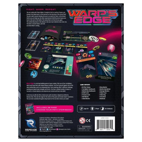 Renegade Games Studios WARP'S EDGE