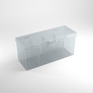 GAMEGENIC DECK BOX: FOURTRESS 320+ CLEAR