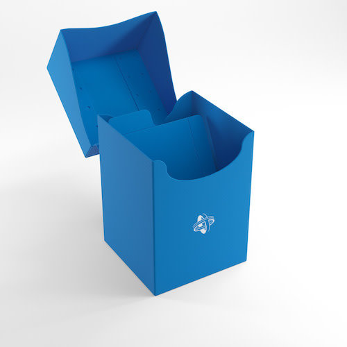 GAMEGENIC DECK BOX: 100+ BLUE