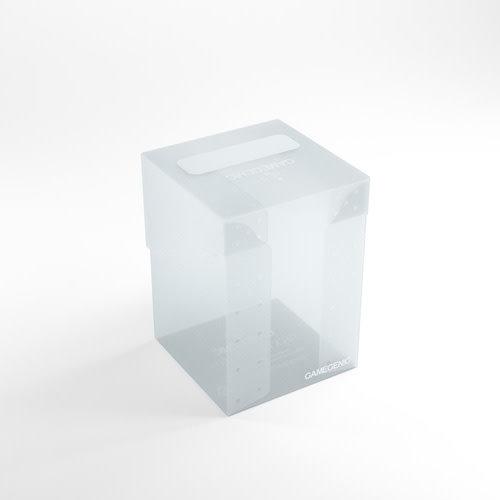 GAMEGENIC DECK BOX: 100+ CLEAR