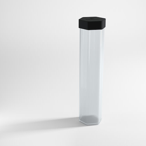 GAMEGENIC PLAYMAT TUBE: CLEAR