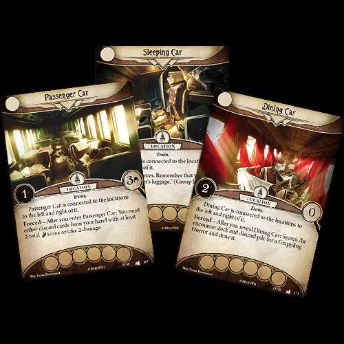 Fantasy Flight Games ARKHAM HORROR LCG: THE ESSEX COUNTY EXPRESS MYTHOS PACK
