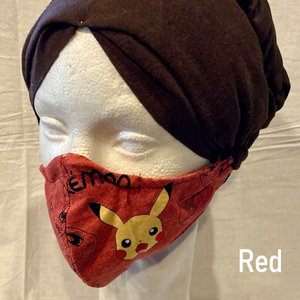 OTHER TIMES PRODUCTIONS PROTECTIVE MASK, FABRIC - POKEMON (Asst)