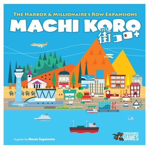 Pandasaurus Games MACHI KORO: 5TH ANNIVERSARY EDITION EXPANSIONS