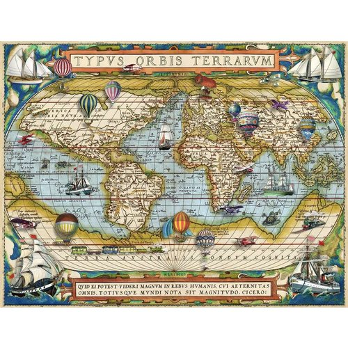 Ravensburger RV2000 AROUND THE WORLD
