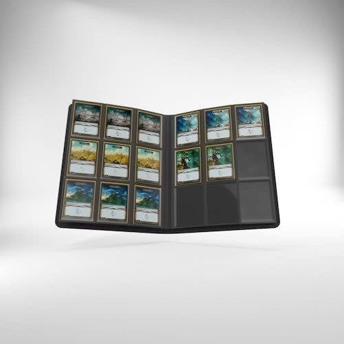 GAMEGENIC BINDER: 18 POCKET - BLACK