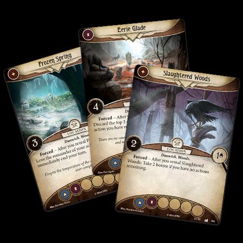 Fantasy Flight Games ARKHAM HORROR LCG: WHERE DOOM AWAITS MYTHOS PACK