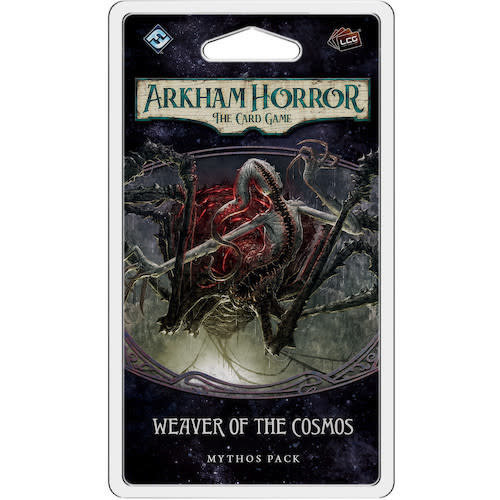Fantasy Flight Games ARKHAM HORROR LCG: WEAVER OF THE COSMOS MYTHOS PACK
