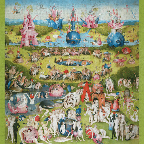 POMEGRANATE PM1000 HIERONYMOUS BOSCH - THE GARDEN OF EARTHLY DELIGHTS