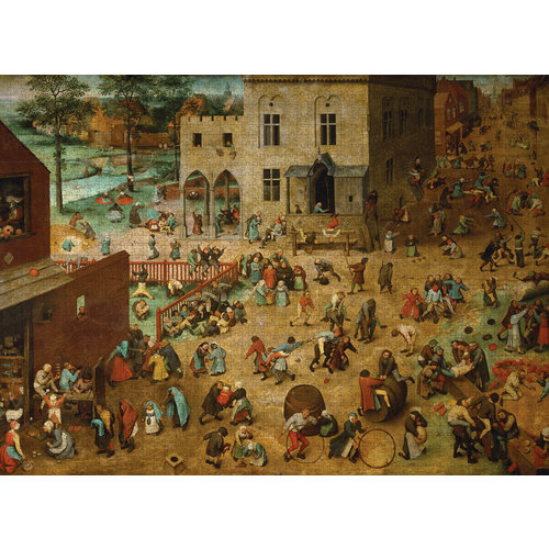 POMEGRANATE PM2000 PIETER BRUEGEL - CHILDREN'S GAMES
