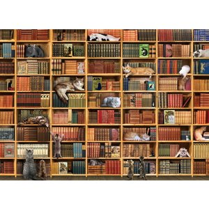 Cobble Hill CH1000 THE CAT LIBRARY