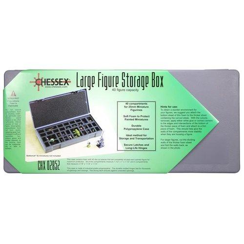 Chessex FIGURE STORAGE BOX: 25mm LARGE (40)