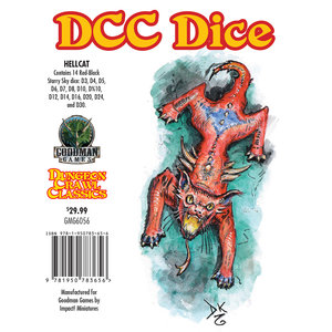 Goodman Games DICE SET 14 DDC: HELLCAT