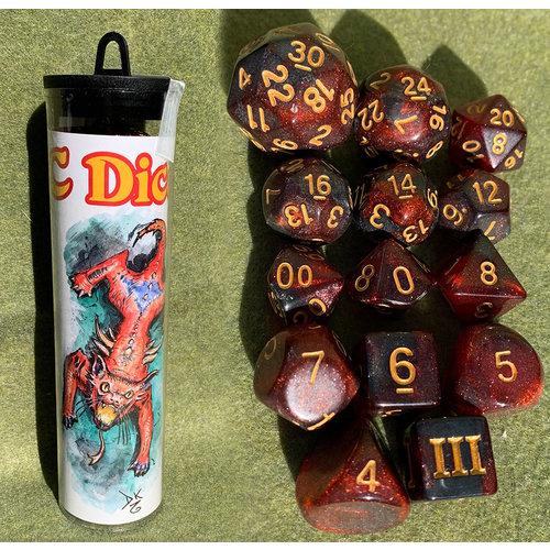 Goodman Games DICE SET 14 DDC: HELLCAT