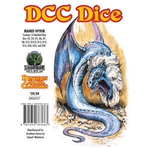 Goodman Games DICE SET 14 DDC: MANED WYRM