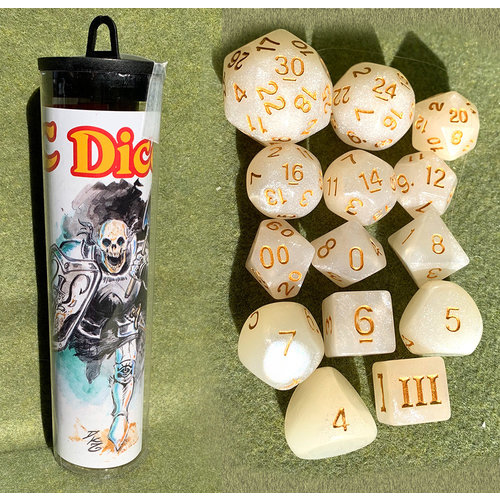 Goodman Games DICE SET 14 DDC: SKELETON-SAINT