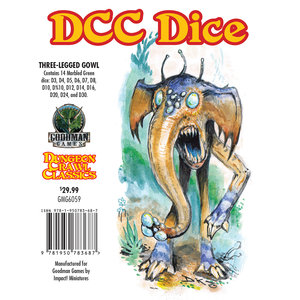 Goodman Games DICE SET 14 DDC: THREE-LEGGED GLOW