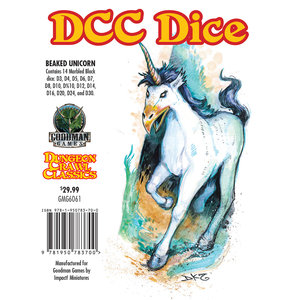 Goodman Games DICE SET 14 DDC: BEAKED UNICORN
