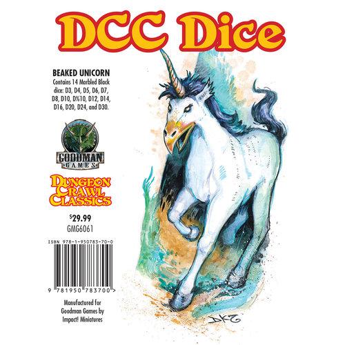 Goodman Games DICE SET 14 DDC: BEAKED UNICORN