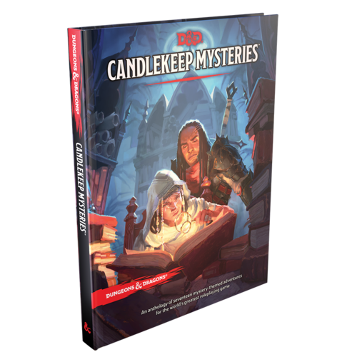 Wizards of the Coast (PRE-ORDER) D&D 5E: CANDLEKEEP MYSTERIES