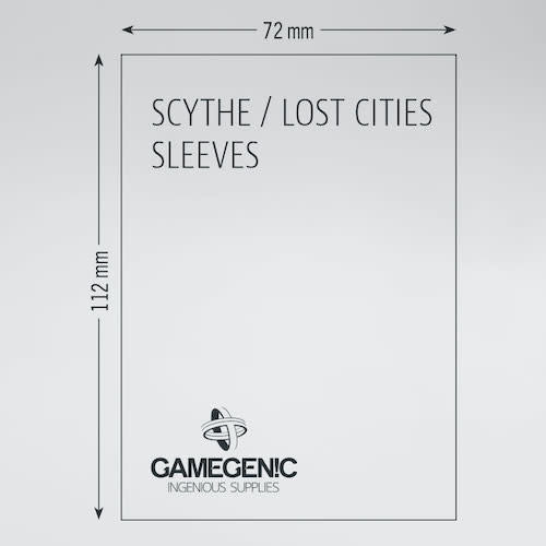 GAMEGENIC DECK PROTECTOR: PRIME - SCYTHE / LOST CITIES SLEEVES (60)