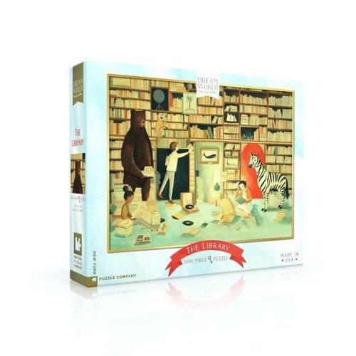 NEW YORK PUZZLE COMPANY NY1000 DREAM WORLD THE LIBRARY