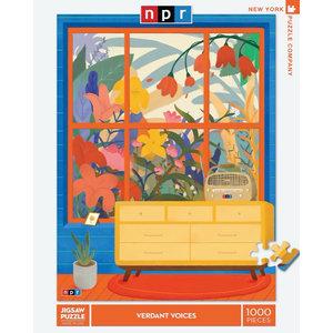 NEW YORK PUZZLE COMPANY NY1000 NPR - VERDANT VOICES