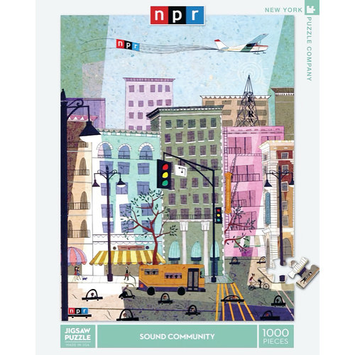 NEW YORK PUZZLE COMPANY NY1000 NPR - SOUND COMMUNITY