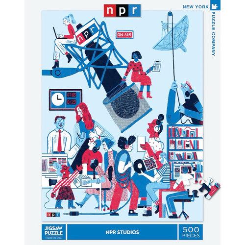NEW YORK PUZZLE COMPANY NY500 NPR STUDIOS