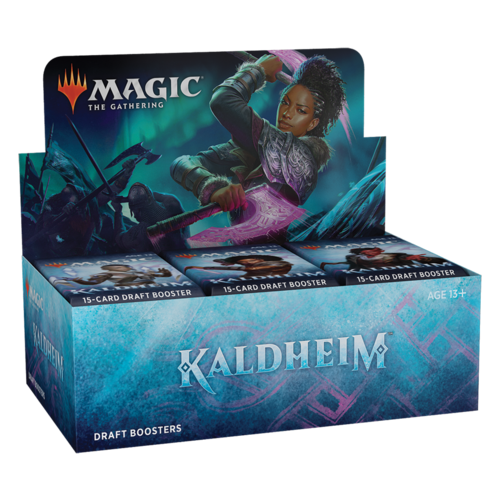 Wizards of the Coast (PRE-ORDER) MTG: KALDHEIM - DRAFT BOOSTER DISPLAY