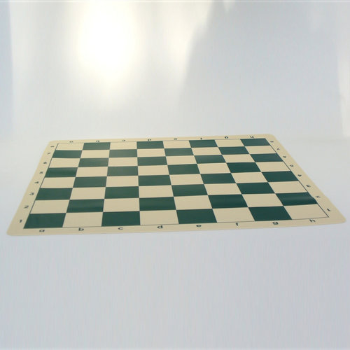 """Worldwise Imports CHESS BOARD 19.75"""" SILICONE MAT w/ 2.25"""" SQ"""