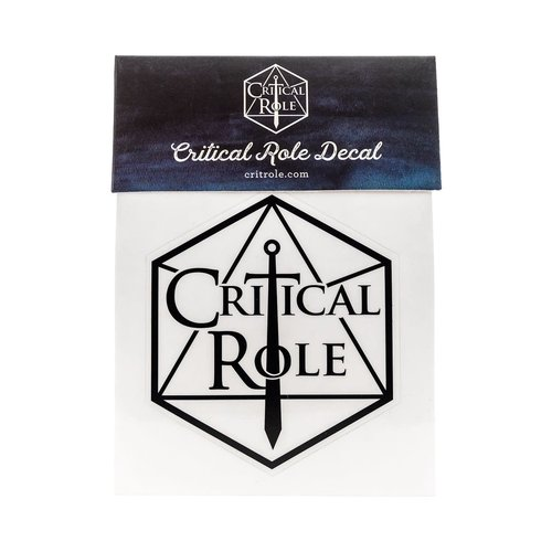 Darrington Press / Critical Role CRITICAL ROLE LOGO DECAL