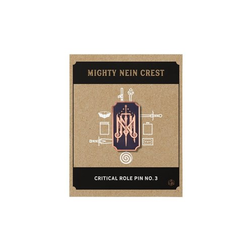 Darrington Press / Critical Role CRITICAL ROLE PIN NO. 3 - MIGHTY NEIN CREST