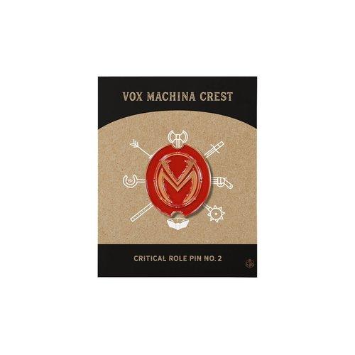 Darrington Press / Critical Role CRITICAL ROLE PIN NO. 2 - VOX MACHINA CREST