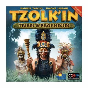 Czech Games Editions INC TZOLK'IN: TRIBES & PROPHECIES