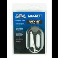 "MAGNETS 3/16"" x 1/16"" (25)"