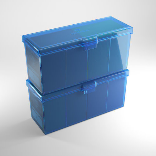 GAMEGENIC DECK BOX: FOURTRESS 320+ BLUE