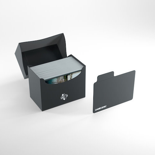 GAMEGENIC DECK BOX: SIDE HOLDER 80+ BLACK
