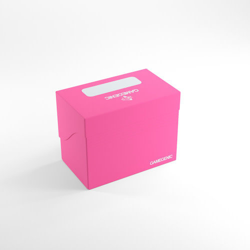 GAMEGENIC DECK BOX: SIDE HOLDER 80+ PINK